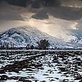 Gathering Winter Storm - Utah Valley by Gary Whitton