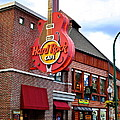 Gatlinburg Hard Rock Cafe by Frozen in Time Fine Art Photography