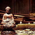 Gautama Buddha by Olivier Le Queinec