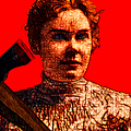 Gave Her Father Forty Whacks - Red by Wingsdomain Art and Photography