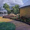Gazebo in Potter Nebraska Print by Jerry McElroy