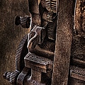 Gears And Pulley by Susan Candelario