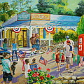 General Store After July 4th Parade by Jan Mecklenburg
