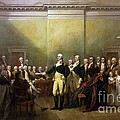 General Washington Resigning His Commission by Pg Reproductions
