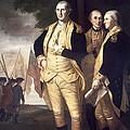 Generals At Yorktown, 1781 by Granger