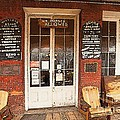 Genoa Saloon Oldest Saloon In Nevada by Artist and Photographer Laura Wrede
