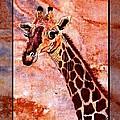 Gentle Giraffe by Sylvie Heasman