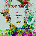 George Harrison Print by Naxart Studio