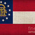 Georgia State Flag by Pixel Chimp