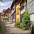 German Old Village Quedlinburg by Heiko Koehrer-Wagner