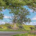 Gettysburg Battlefield 4th New York  by Randy Steele