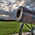 Gettysburg Canon Closeup Print by Andres Leon