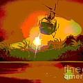 Ghost Huey Apocalypse  by William Gruendler