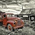 Ghost Town Truck by Robert Jensen