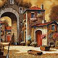 giallo Print by Guido Borelli