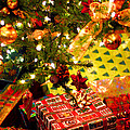 Gifts Under Christmas Tree by Elena Elisseeva