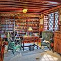 Gillette Castle Library by Susan Candelario