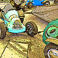 Gilroy Gardens Old Cars by Artist and Photographer Laura Wrede