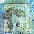 Gingko Spa 2 Print by Debbie DeWitt