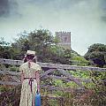 Girl At Gate by Joana Kruse