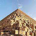 Giza Pyramid Detail by Jane Rix