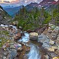Glaciers Wild by Darren  White