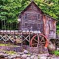 Glade Creek Grist Mill by Steve Harrington