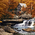 Glade Creek Mill In Autumn by Tom Mc Nemar