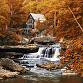 Glade Creek Mill Selective Focus by Tom Mc Nemar