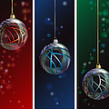 Glass Bauble Banners by Jane Rix