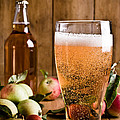Glass Of Cyder by Amanda And Christopher Elwell