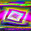 Glbtq Free And Unframed   Hi-saturation Version by Rebecca Phillips
