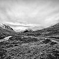 Glen Etive Road And River by John Farnan