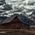 Gloomy Moulton Barn