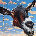 Goat A La Magritte by Jurek Zamoyski
