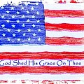 God Shed His Grace On Thee Print by Robert ONeil