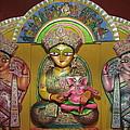 Goddess Durga Print by Pradip kumar  Paswan