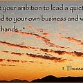 Godly Ambition