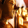 Gold Buddha At Wat Phrathat Doi Suthep by Metro DC Photography