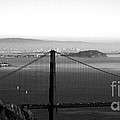 Golden Gate And Bay Bridges by Linda Woods