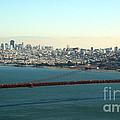 Golden Gate Bridge by Linda Woods