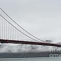 Golden Gate by the Bay Print by David Bearden