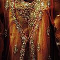 Golden Oriental Dress by Mythja  Photography