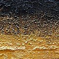 Golden Time - Abstract by Ismeta Gruenwald