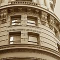 Golden Vintage Building