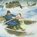 Grace Darling And Her Father Rescuing by Trelleek