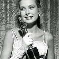 Grace Kelly At Awards Show by Retro Images Archive