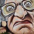 Graffiti Art Curitiba Brazil 22 Print by Bob Christopher