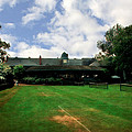 Grass Courts At The Hall Of Fame by Michelle Calkins