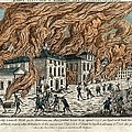Great Fire Of New York, 1776 by Science Photo Library